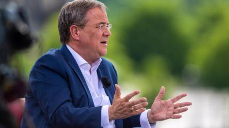 Armin Laschet, Ministerpräsident von Nordrhein-Westfalen, Bundesvorsitzender der CDU und Kanzlerkandidat.