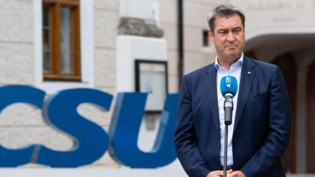 Bayerns Ministerpräsident Söder zeigte sich «verwundert» über Laschets Aussagen zu Steuersenkungen.