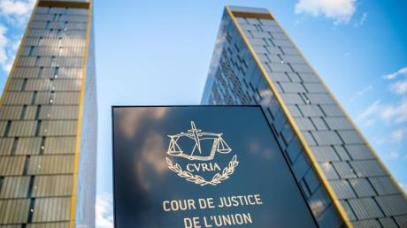 Der Europäische Gerichtshofs (EuGH) im Europaviertel inLuxemburg.