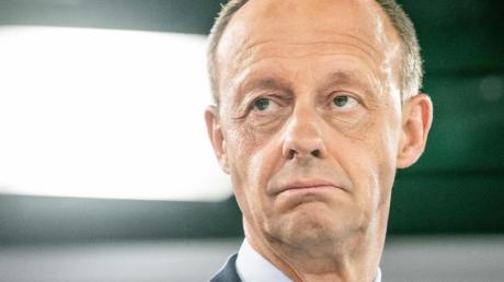 Der CDU-Politiker Friedrich Merz fordert eine Neuausrichtung der Europapolitik seiner Partei.