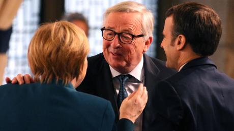 Nicht immer einer Meinung, aber überzeugte Europäerin und überzeugter Europäer: Angela Merkel und Jean-Claude Juncker haben versucht, die EU zusammenzuhalten.