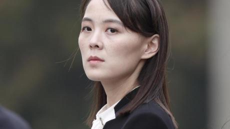 Kim Yo Jong, hier im Jahr 2019, ist die Schwester von Nordkoreas Machthaber Kim Jong Un.
