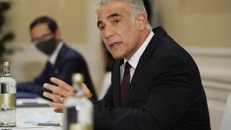 Jair Lapid ist Außenminister von Israel.