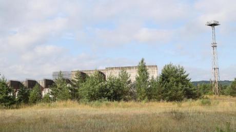 Die Bauruine von Polens einzigem Atomkraftwerk.