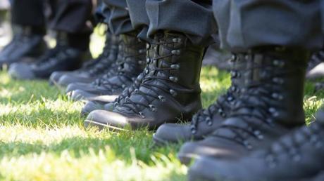 Mehrere Reservisten sollen Teil einer Wehrsportgruppe gewesen sein.