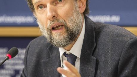 Sitzt in Haft: Der türkische Regierungskritiker Osmar Kavala.