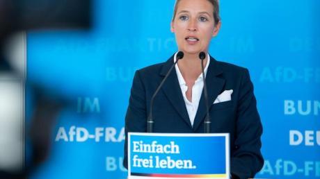 Alice Weidel, Spitzenkandidatin der AfD für die Bundestagswahl am 26. September.
