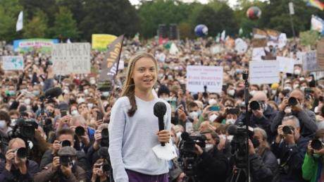 Steht in Berlin im Fokus: die schwedische Klimaaktivistin Greta Thunberg.