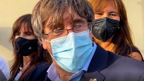 Carles Puigdemont kann das Gefängnis in Sassari verlassen.