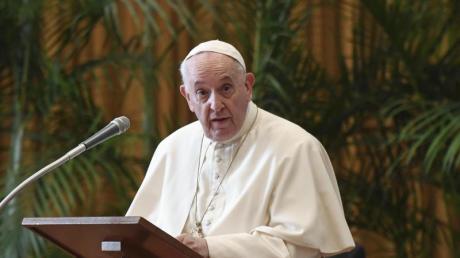 «Ein Moment der Schande»: Papst Franziskus.