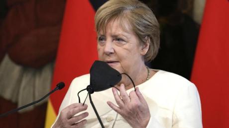 «Meisterin des Multilateralismus»:Kanzlerin Angela Merkel.