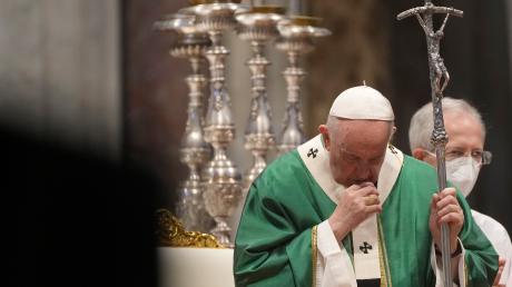 """Franziskus sagte am Sonntag, der synodale Weg sei """"ein Heilungsprozess unter der Leitung des Heiligen Geistes""""."""