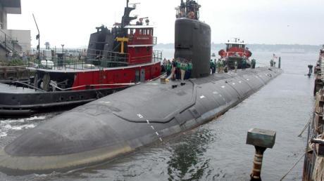 Ein Archivfoto zeigt das amerikanische Atom-U-Boot USSVirginia.