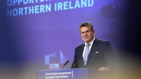 Maros Sefcovic ist der EU-Brexit-Beauftragte.