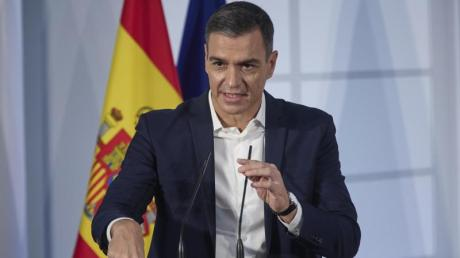 Pedro Sánchez, Ministerpräsident von Spanien, nimmt an der institutionellen Veranstaltung teil. (Archivbild).