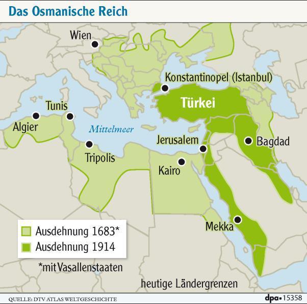 Osmanisches Reich Karte 1914.Türkei Plant Präsident Erdogan Ein Osmanisches Reich Politik