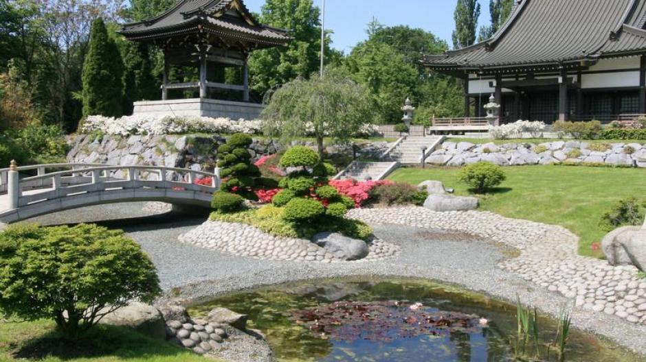 Tourismus Klein Tokio Am Rhein Düsseldorf Japanisch Reise