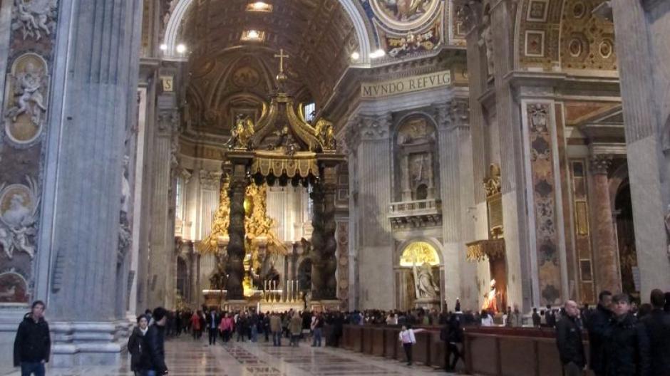 Fußboden Im Petersdom ~ Tourismus geheimnisse hinter hohen mauern rom vor der papstwahl