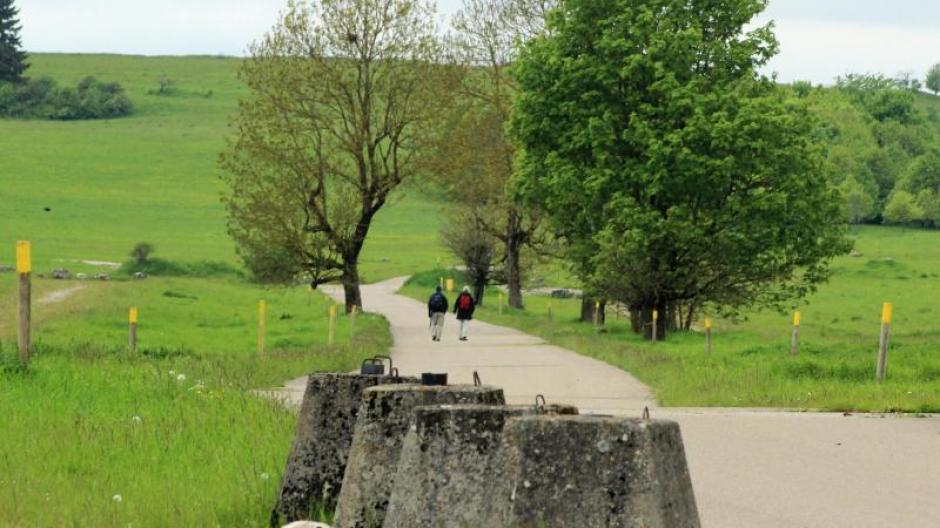 Tourismus: Wo einst Panzer rollten Wandern auf der