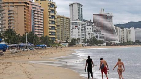 Einfach mal an den Strand liegen - das will in Acapulco eigentlich keiner mehr. Die Stadt ist zu gefährlich geworden.