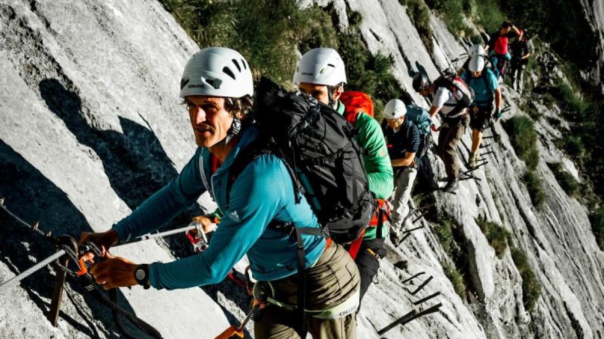 Klettersteigset Salewa : Salewa ergo tex klettersteigset