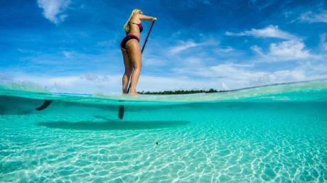 Die Kokosinseln gehören politisch zu Australien und bieten türkises Meer wie aus dem Bilderbuch - als Reiseziele sind die Eilande absolut exotisch. Foto: Cocos Keeling Islands Tourism Association/dpa-tmn