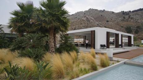Greift Charakteristika der Region auf: Das Casa Cookauf Rhodos ist ein lässiges Lounge-Hotel. Foto: Philipp Laage