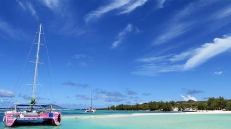 Auf Mauritius liegen die Wassertemperaturen derzeit bei 35 Grad. Foto: Simone A. Mayer