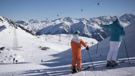 Im Skigebiet Davos Klosters liegen zurzeit 166 Zentimeter Schnee.