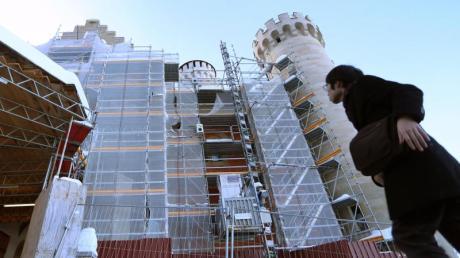 Das Schloss Neuschwanstein wird derzeit für 20 Millionen Euro restauriert.