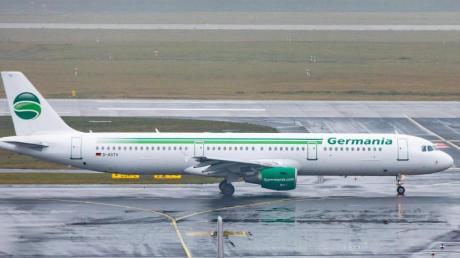 Germania hat den Flugbetrieb eingestellt. Foto: Marcel Kusch