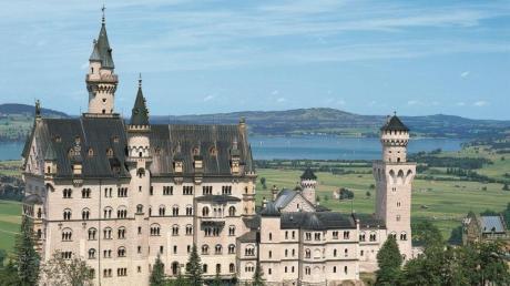 Weltbekannter Klassiker: Das Schloss Neuschwanstein.