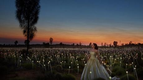 Am Uluru in Australien findet im November erstmals ein Opernevent statt - zu besonderem Licht.