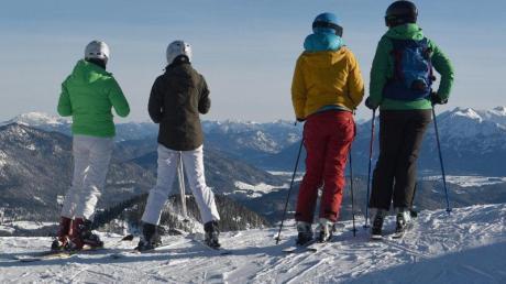 Gute Pistenbedingungen: In Garmisch-Partenkirchen liegen derzeit noch 250 cm Schnee.