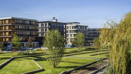 Grün in der Stadt: Am 17. April startet die BUGA in Heilbronn - die Schau erwartet Besucher am Flussufer des Quartiers Neckarbogen.