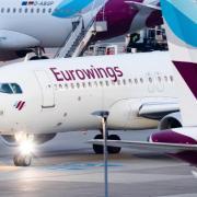 Übergepäck wird bei Eurowings ab sofort pro Kilogramm abgerechnet. Foto: Marcel Kusch