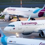 Eurowings streicht im Smart-Tarif die Snacks und Getränke. Foto: Marcel Kusch