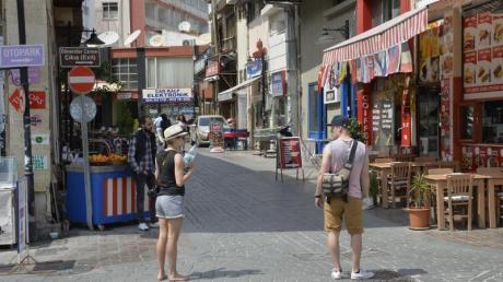 Reisen nach Antalya wurden in diesem Sommer online am häufigsten gebucht.