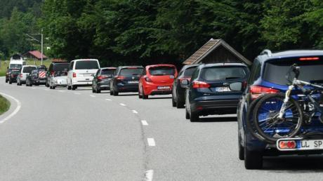 Im Bezirk Reutte gilt vorübergehend wieder ein regionales Fahrverbot.