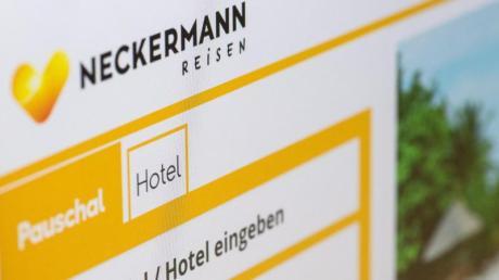 Die Website Neckermann-Reisen.de - die Markenrechte hat nun der türkische Reiseveranstalter Anex gekauft.