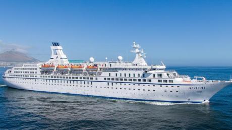 Es gibt insgesamt 289 Kabinen an Bord der «Astor».