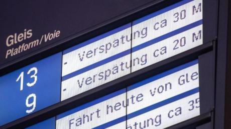 Beim Thema Verspätungen bekommt die Deutsche Bahn von ihren Kunden schlechte Noten.
