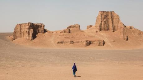 Wüstenlandschaft im Iran - über seinen Aufenthalt in diesem Land hatStephan Orth als Couchsurfer einen Bestseller geschrieben.