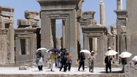 Nach dem Raketenangriff des Irans auf US-Stützpunkte im Irak könnte die antike Stadt Persepolis Ziel eines Gegenschlags der US-Armee werden.