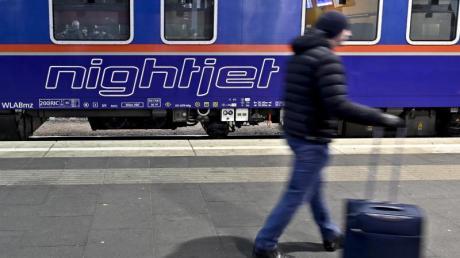 Der Nightjet der ÖBB fährt von Innsbruck über München nach Brüssel.