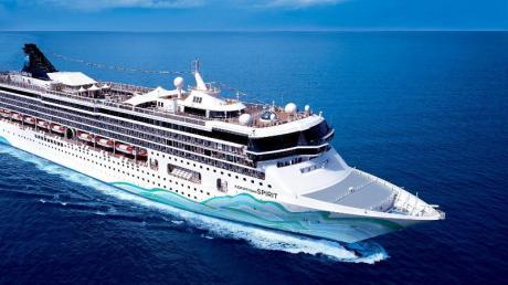 Die «Norwegian Spirit» sollte in diesem Sommer eigentlich inAsien fahren - nun wird es das Mittelmeer sein.