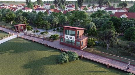 Auf die Düne verlegt:So soll die neue Promenade in Boltenhagen aussehen.