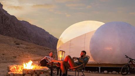 Abu Dhabi hat rund um seine Unesco-Welterbestätte den Jebel Hafit Desert Park eingerichtet - mit Ausflugsangebot und Unterkünften.