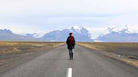 Allein unterwegs - hier auf Island: Bloggerin Ute Kranz ermutigt andere Frauen dazu, auch mal ohne Begleitung auf Reisen zu gehen.