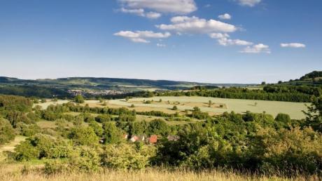 Die Landschaft des Bliesgau ist geprägt von sanften Hügeln.